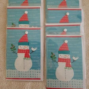 Hallmark Cares Snowman Christmas Greeting Cards